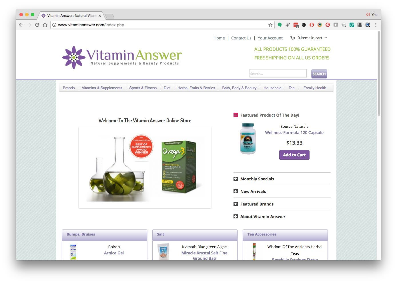 Vitamin Answer